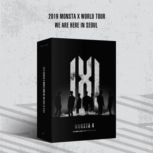 키트비디오/초도포스터/ 몬스타엑스 - 2019 MONSTA X WORLD TOUR [WE ARE HERE] IN SEOUL KiT VIDEO