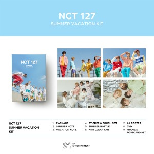 NCT 127(엔시티 127) - 2019 NCT 127 SUMMER VACATION KIT