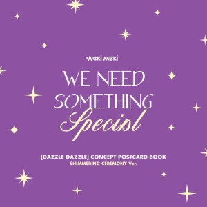SHIMMERING CEREMONY Ver./Weki Meki(위키미키) - DIGITAL SINGLE [DAZZLE DAZZLE] CONCEPT POSTCARD BOOK