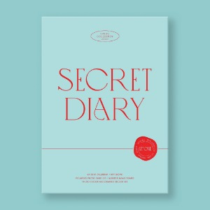 포스터+지관통/아이즈원 (IZONE) - SECRET DIARY (CALENDAR PACKAGE)