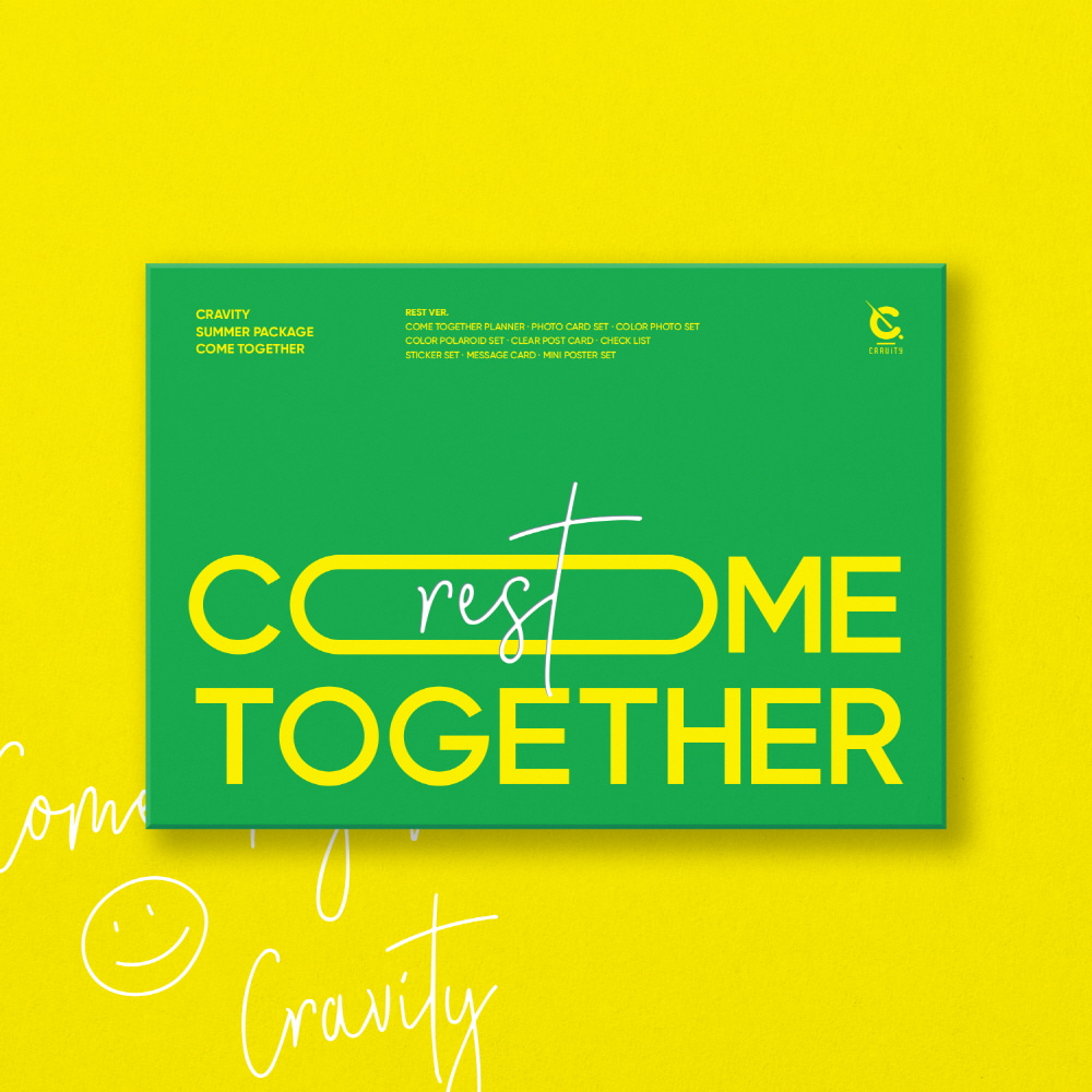 CRAVITY (크래비티) SUMMER PACKAGE [COME TOGETHER] (REST VER.)